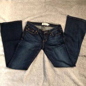 Abercrombie&Fitch Madison low-rise jeans- sz 0S